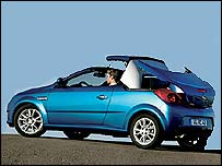 Opel Tigra convertible