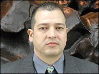 Fredy Peccerelli, antropólogo forense guatemalteco.