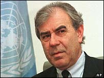 Ex-UN chief weapons inspector to Iraq, Richard Butler