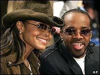 Janet Jackson with boyfriend Jermaine Dupri