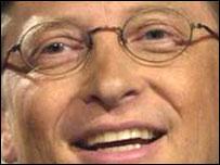 Microsoft chief Bill Gates
