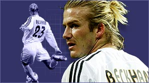 Learn to bend it like Beckham