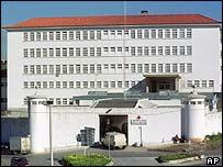 Caxias prison near Lisbon