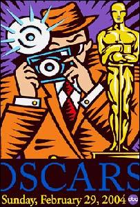 Burton Morris' Oscar poster
