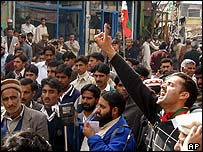 Kashmir separatists protest in Muzaffarabad, Pakistani-administered Kashmir