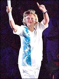 Shirley da la Hunty at the Sydney Olympics