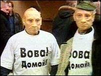 Flash mobbers in St Petersburg