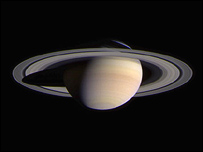 Cassini-Huygens image of Saturn, Nasa/Esa