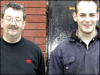 Alan Jeffery and Paul Wellington