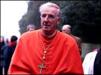 Cardinal Cormac Murphy-O'Connor   PA