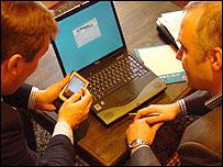 Using wi-fi to work