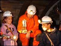 National Coal Mining Museum. Cap House Pit, Wakefield
