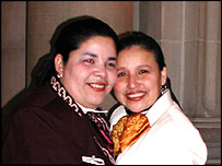 Maria Castillo and Georgina Graciano