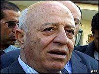 Primer Ministro palestino, Ahmed Qurei