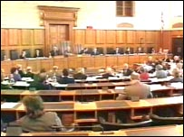 Devon County Council is session