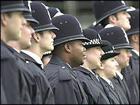 Metropolitan Police recruits