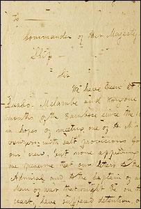 Livingstone's letter