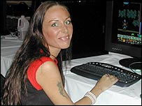 Counter-Strike gamer Anja Maller