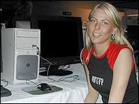 Counter-Strike gamer Louise Thomsen