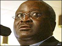 Burundi President Domitien Ndayizeye