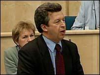 Deputy Enterprise Minister Lewis Macdonald