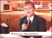 Joshua Hartley, 12, makes his own appeal, live on Breakfast TV