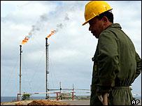 Libyan oil refinery
