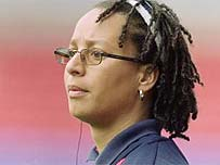 England coach Hope Powell