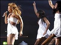 Beyonce at the Brit Awards