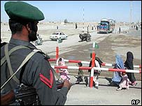 Pakistani border guard