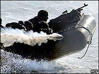 Greek troops training in January