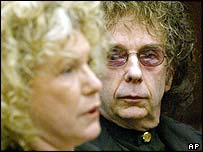 Leslie Abramson and Phil Spector