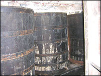 Cardiff Castle's wine cellars