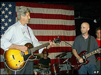 John Kerry and Moby