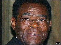 Equatorial Guinea President Teodoro Obiang Nguema Mbasogo