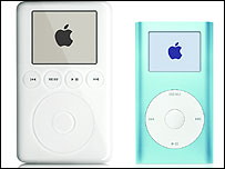 Apple's iPod and iPod mini