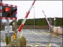Kirknewton level crossing