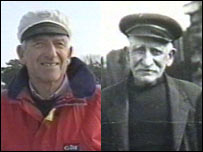 John White and his wife's grandfather, also a ferryman