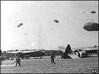 Glider troops in World War Two
