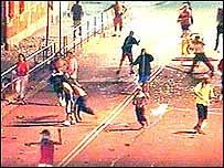 Disturbios en Sidney