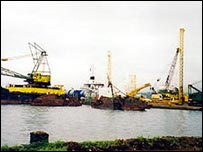 Oil rig in Equatorial Guinea