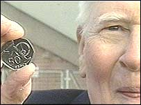 Sir Roger Bannister and the commemorative coin