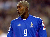 Striker Djibril Cisse is on his way to Liverpool