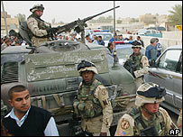 US soldiers in Iraq