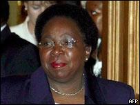 South African Foreign Minister Nkosazana Dlamini-Zuma