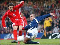 Wales made light of Simon Davies' early injury