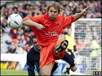 Alan Archibald in action
