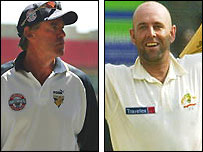 The late David Hookes and Darren Lehmann