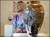Transvestite potter Grayson Perry