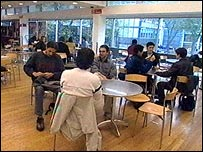 Students at Imperial College, London